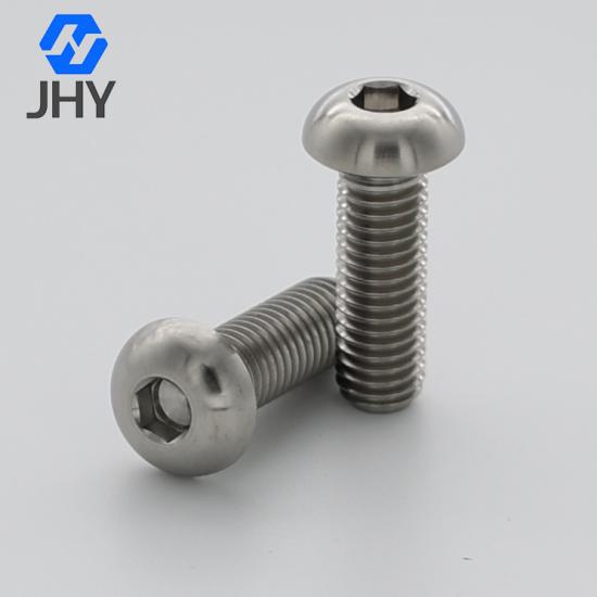 ISO7380半圆头内六角钛螺钉