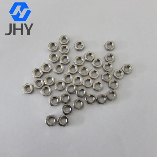 CNC钛薄螺母