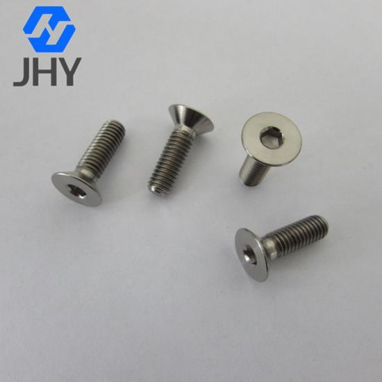 DIN7991钛平头螺丝