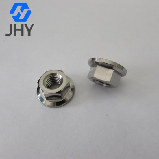 DIN6923 M6钛合金法兰螺母