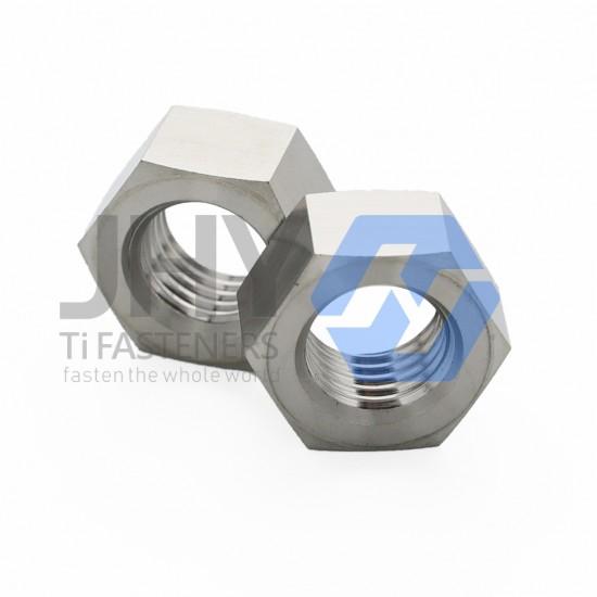 钛A级和B级六角螺母