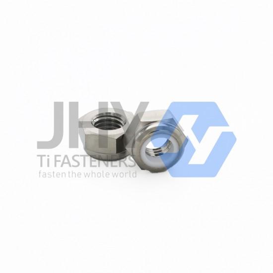 钛非金属嵌件六角锁紧薄螺母